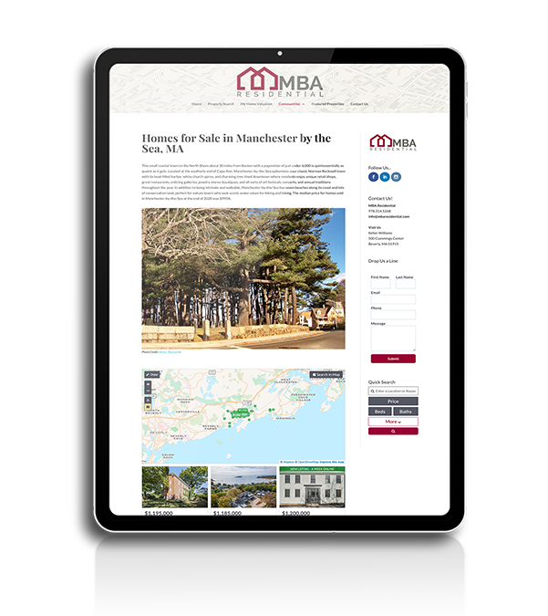 MBA Residential - Community Pages